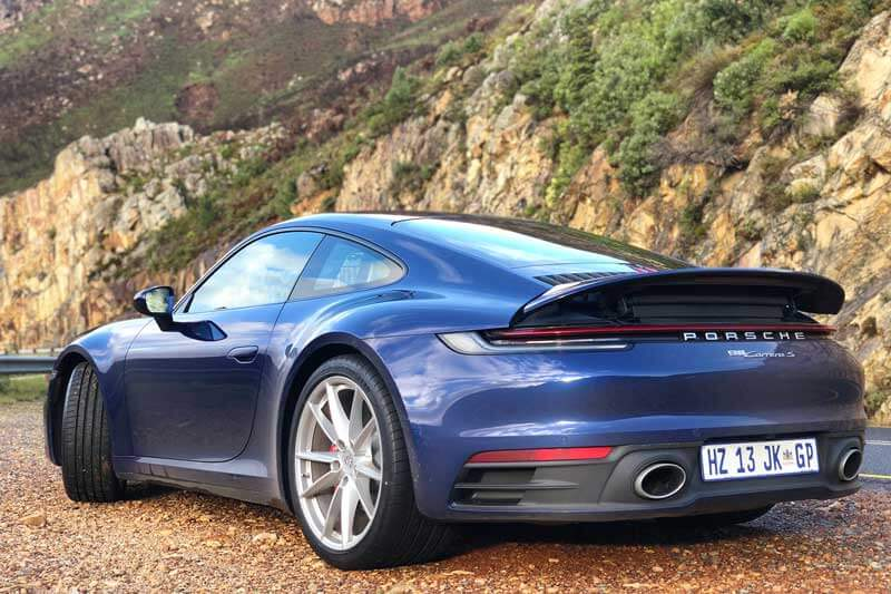Porsche 911 992 Review South Africa - Rear view