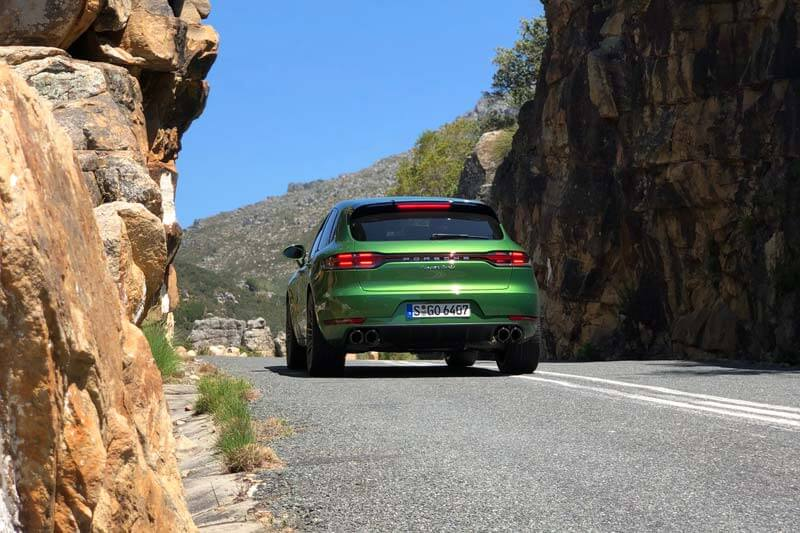 Porsche Macan Turbo Rear South Africa